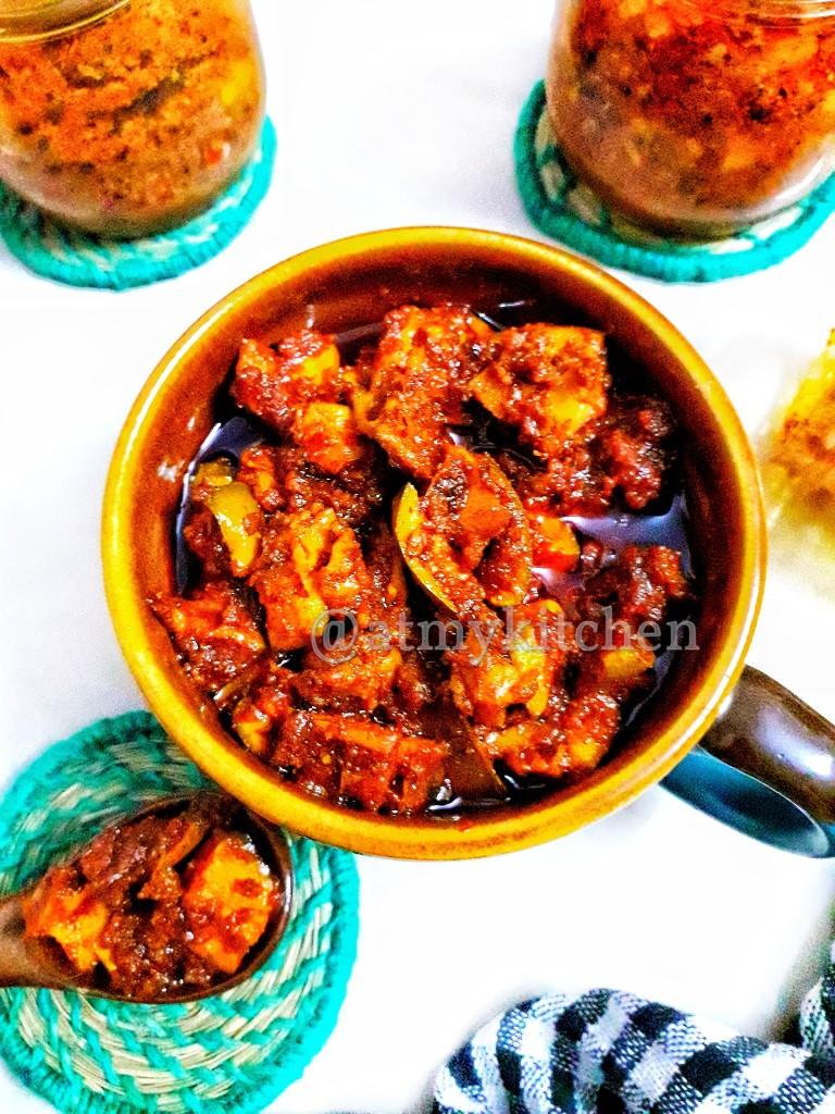 Mango Pickle / Aam Ka Achaar / Indian Mango Pickle