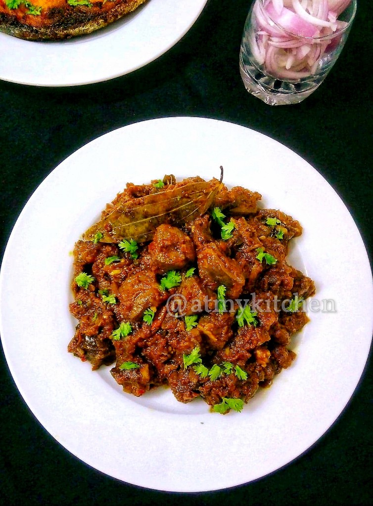 Mutton Liver Masala / Kaleji Masala / Goat Liver Fry