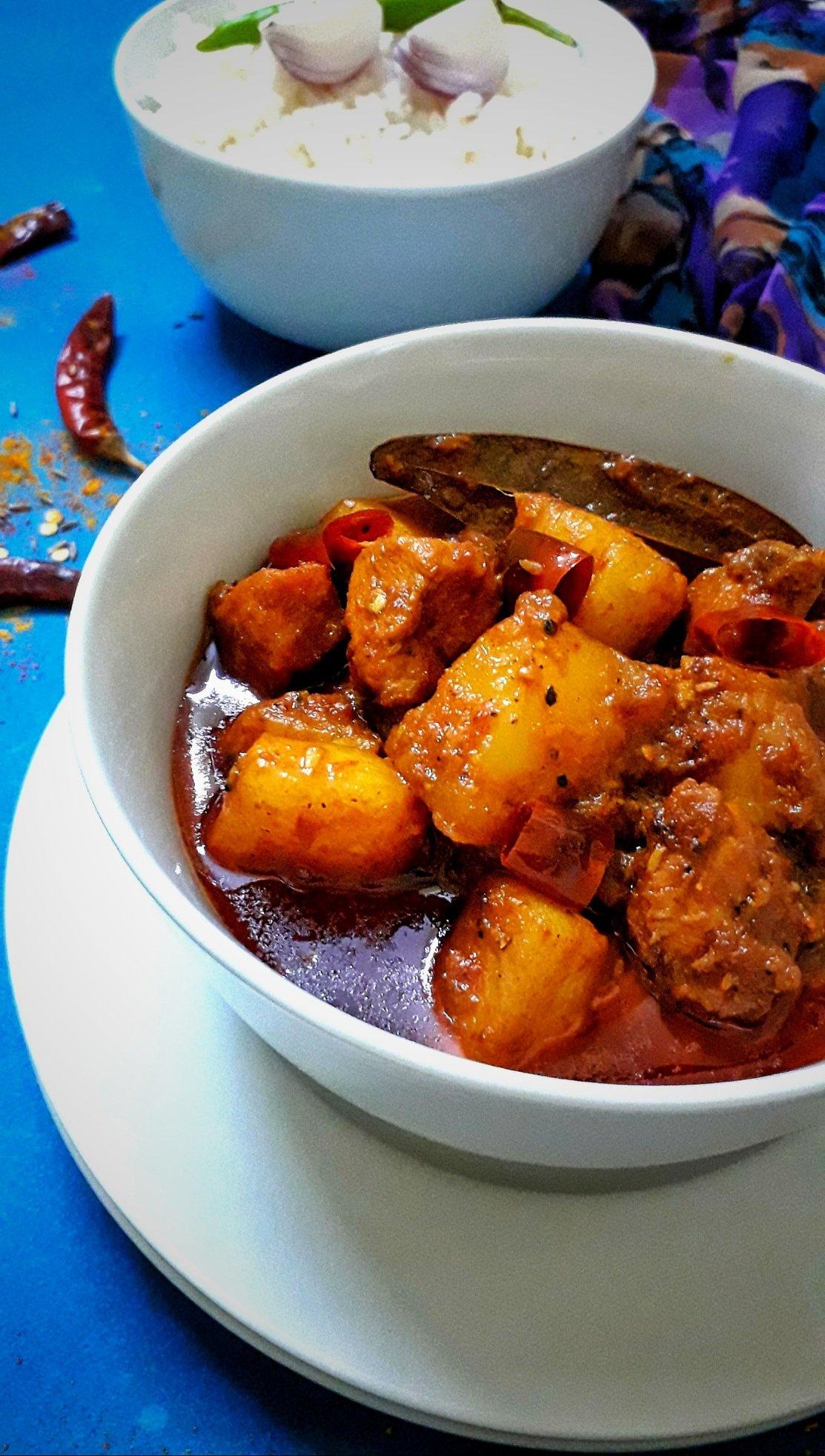 Pork Masala Curry / Indian Pork Curry / Masala Pork Curry