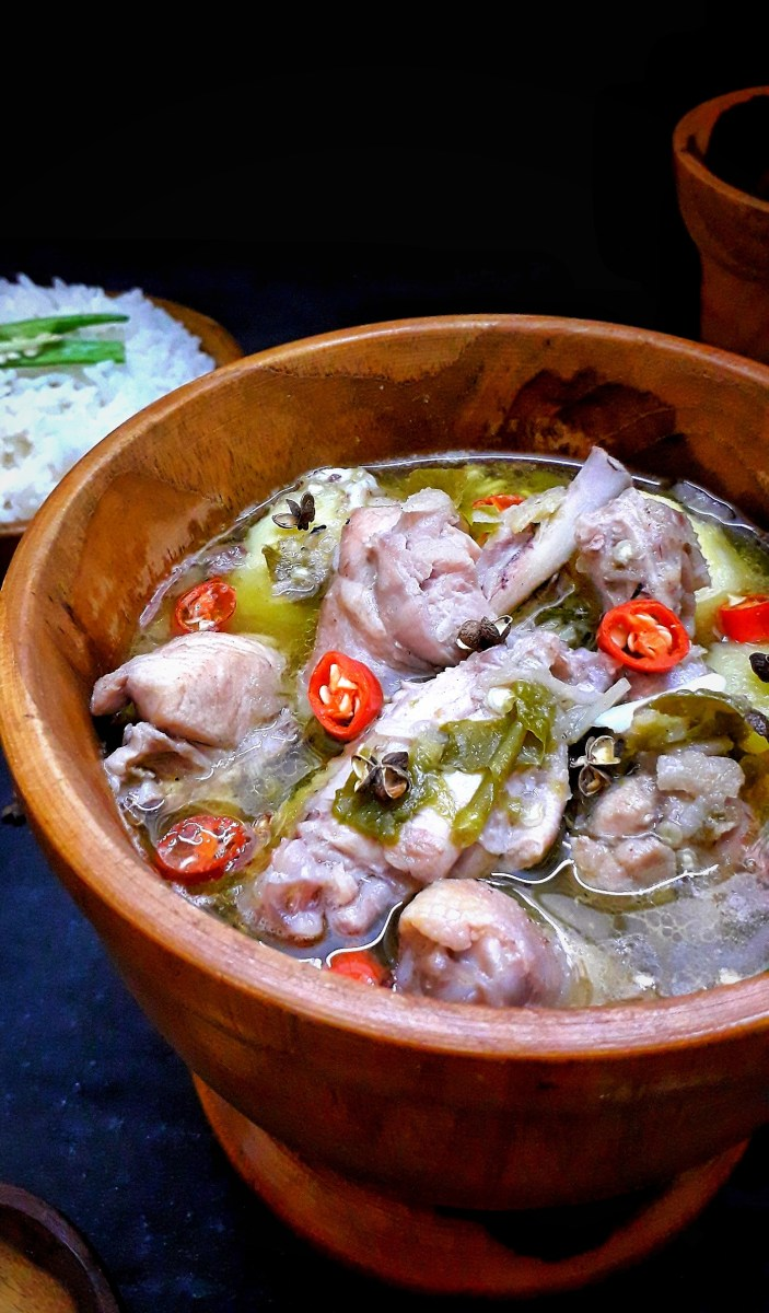 Naga Chicken Curry / Chicken Curry Naga Style / Traditional Naga Chicken Curry