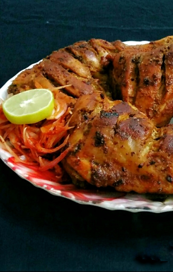 Baked Whole Chicken Legs / How to make easy baked chicken leg/ Oven Baked Chicken